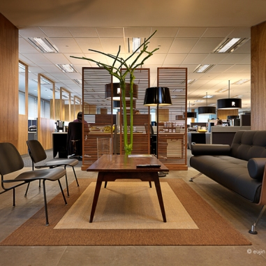 Interior of an office by Eujin Goh