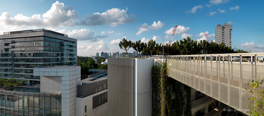 Panoramic View of SOTA, School of the Arts