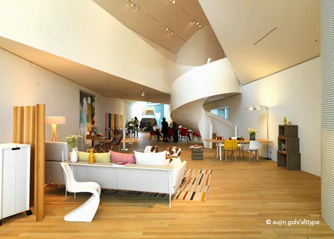 vitrahaus showcasing vitra s furniture alt pix fotografie. Black Bedroom Furniture Sets. Home Design Ideas