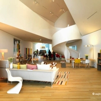 Vitrahaus showcasing Vitra's furniture
