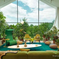Vitrahaus showcasing Vitra's living room furniture