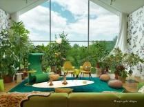 Vitrahaus showcasing Vitra's living room furniture