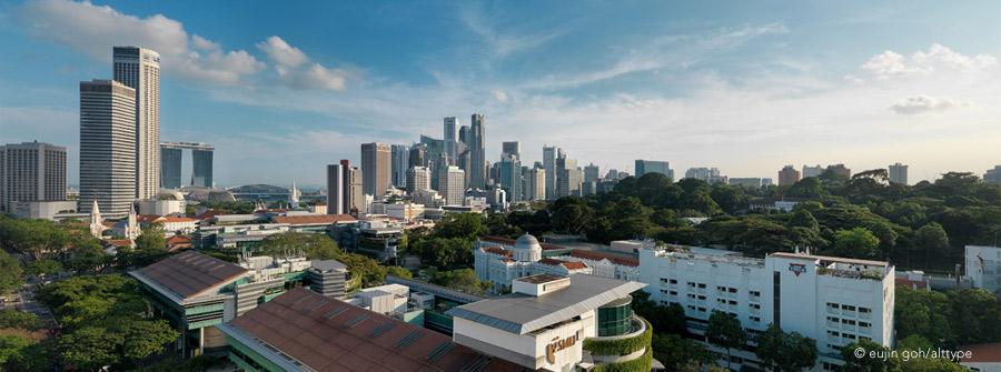 Urban jungle of Singapore
