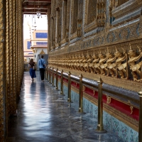 Interior of the Temple of the Emerald Buddha