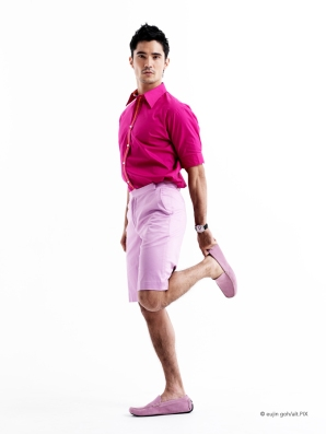 Model in Pink by Eujin Goh