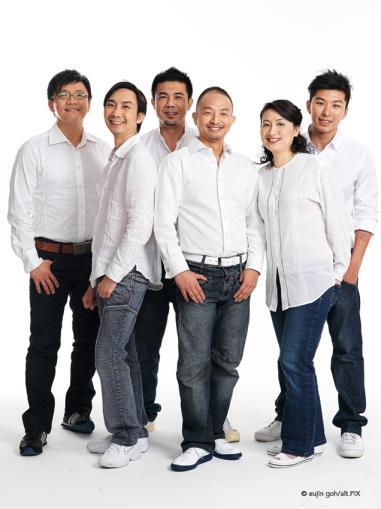 Group Portrait By Eujin Goh