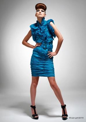 Model Portrait by Eujin Goh
