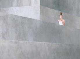 Lola in white by Eujin Goh
